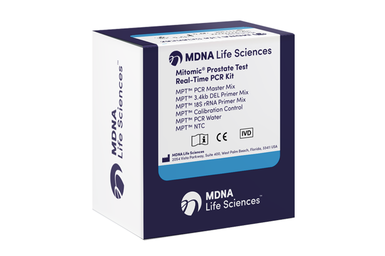 MDNA Mitomic Prostate Test kit web